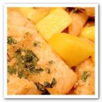 Salmon and Mango in 10