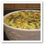 Spinach and Sundried Tomato Frittata