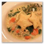 Thyme, Chicken, and Orzo Soup
