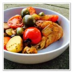 O is for Olive Chicken