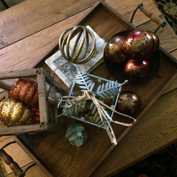 Autumn Coffee Table Tray